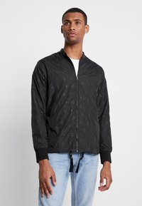 Diamond Supply Co. - MONOGRAM JACKET - Summer jacket - black - 0