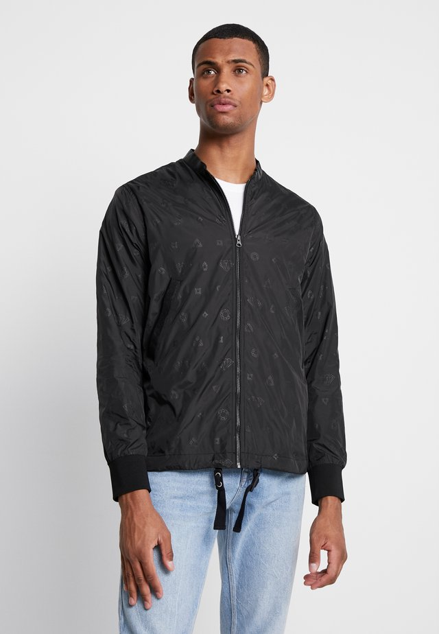 MONOGRAM JACKET - Summer jacket - black