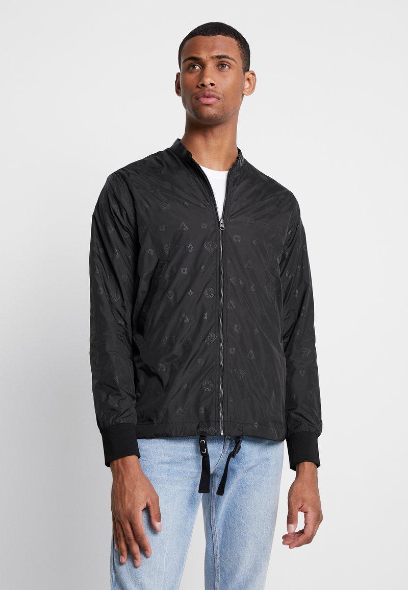 Diamond Supply Co. - MONOGRAM JACKET - Summer jacket - black