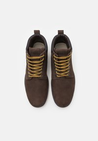 Jack & Jones - JFWTUBAR JAVA - Lace-up ankle boots - brown - 3