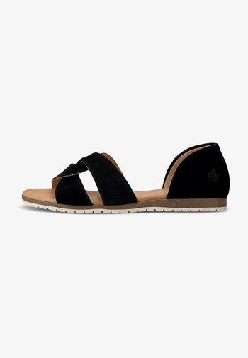CHES - Sandals - schwarz