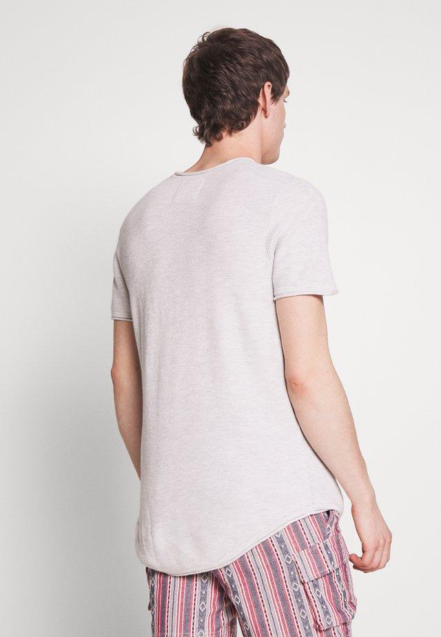 SOLID CREW - T-shirt imprimé - grey