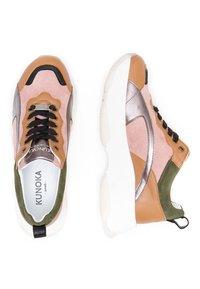 KUNOKA - UGLY - Sneakers laag - pink - 1