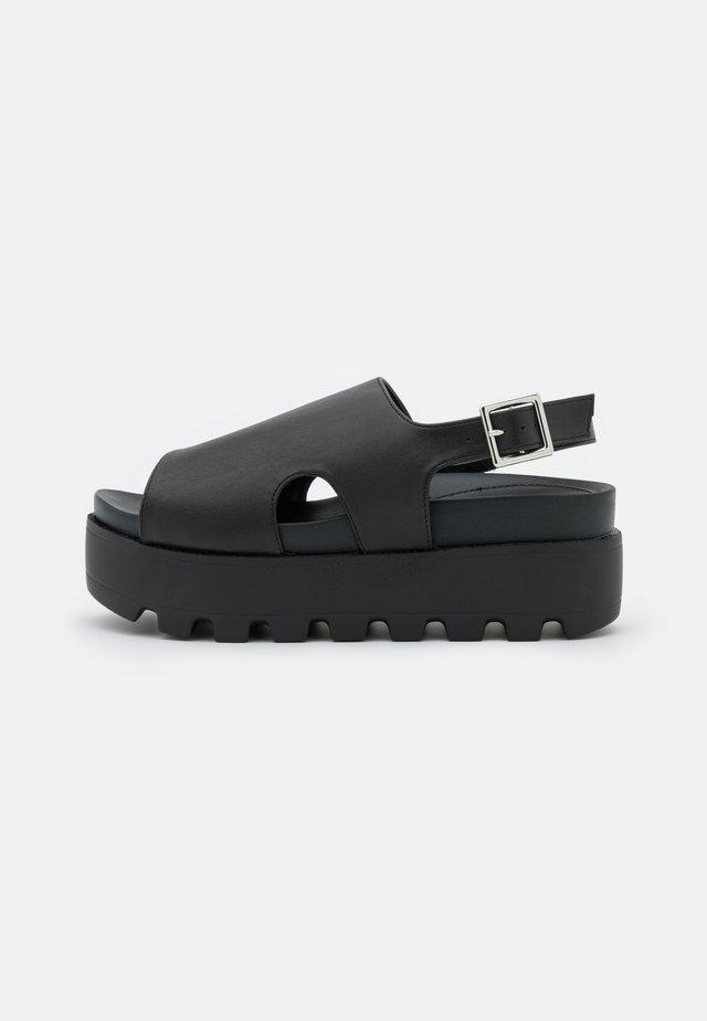 DANA - Sandales à plateforme - black