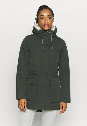 WOMENS MANUKAU II - Winter coat - spinach