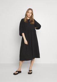 Gina Tricot - HILMA DRESS - Day dress - black - 0