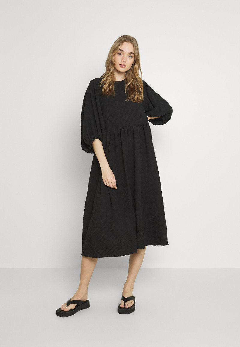 Gina Tricot - HILMA DRESS - Day dress - black