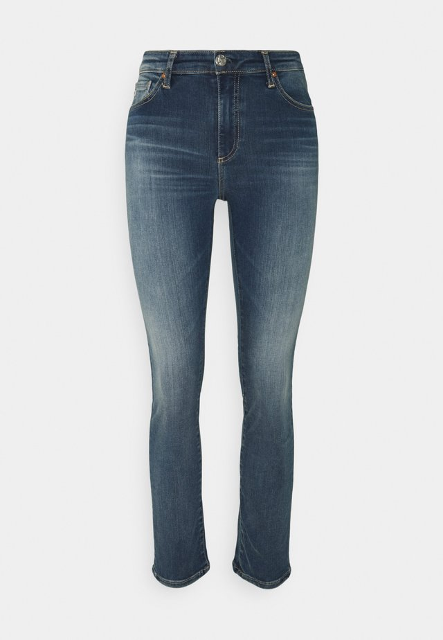 MARI - Slim fit jeans - blue denim