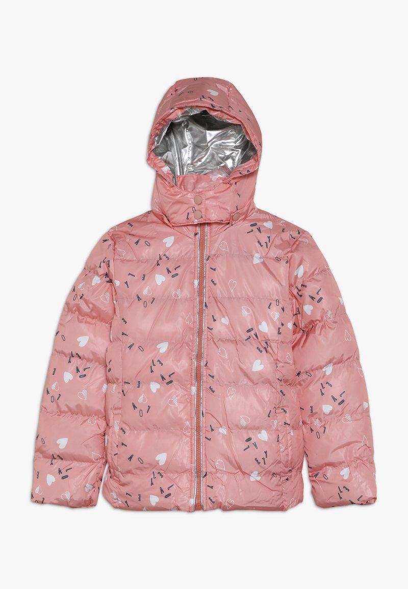 Lemon Beret - SMALL GIRLS JACKET - Winter jacket - flamingo pink