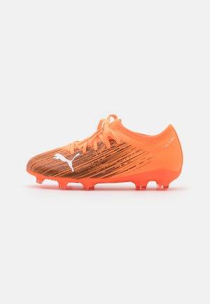 ULTRA 3.1 FG/AG JR UNISEX - Moulded stud football boots - shocking orange/black