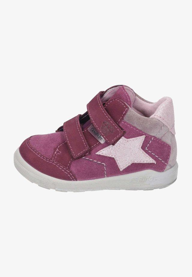 Touch-strap shoes - fuchsia/blush