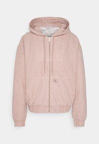 BDG Urban Outfitters - SKATE HOOD JACKET - Light jacket - pink - 6