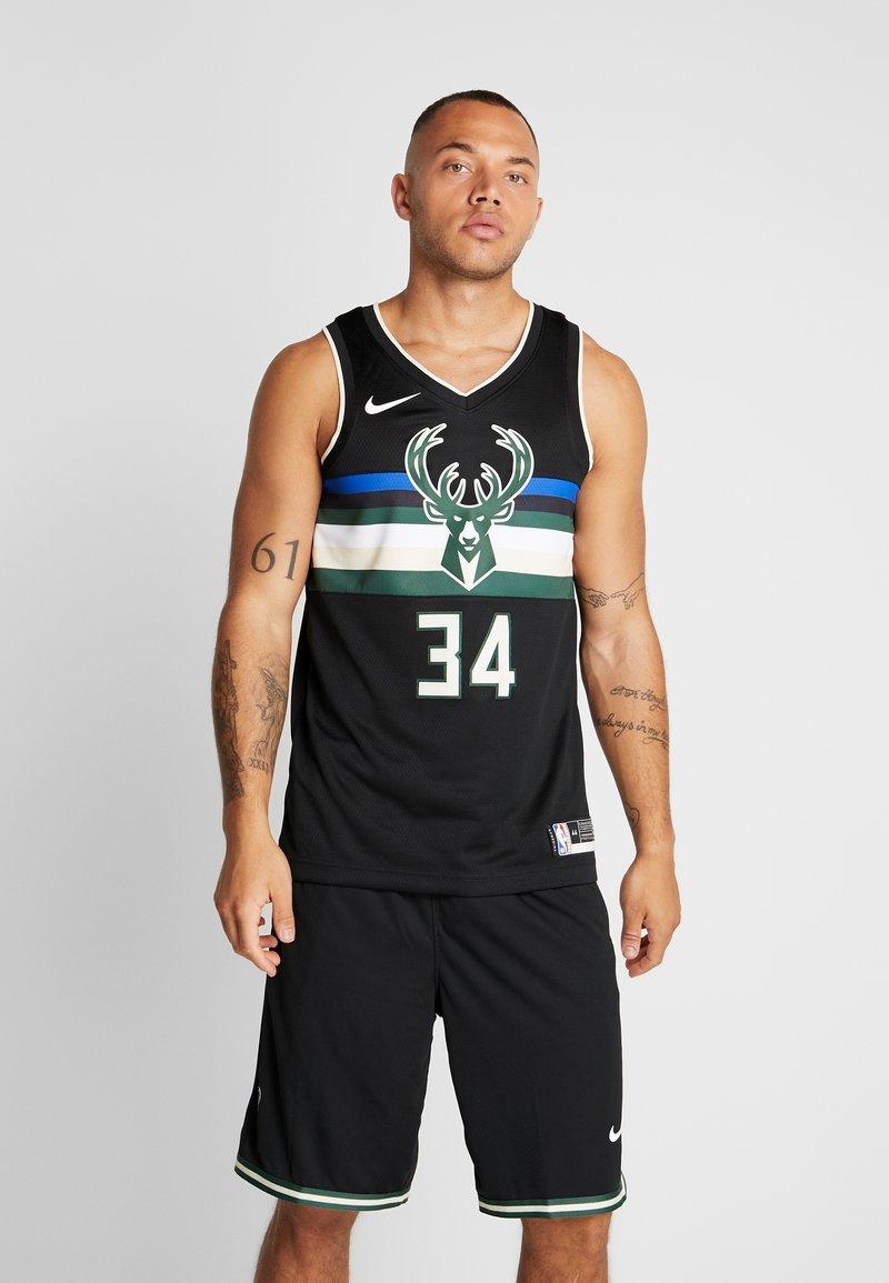 Nike Performance - NBA MILWAUKEE BUCKS GIANNIS ANTETOKOUNMPO STATEMENT - Club wear - black