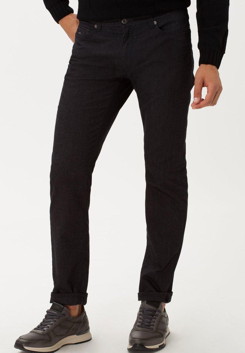 BRAX - STYLE CADIZ C - Trousers - anthra