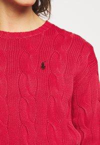 Polo Ralph Lauren - LONG SLEEVE - Strikkegenser - faded red - 3