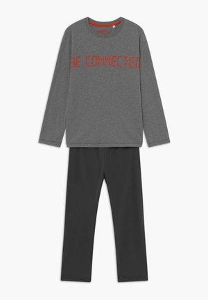 PYJAMA LONG - Nattøj sæt - elite grey