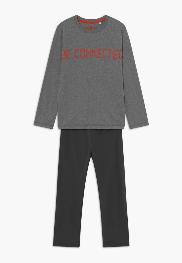 PYJAMA LONG - Pyjama set - elite grey