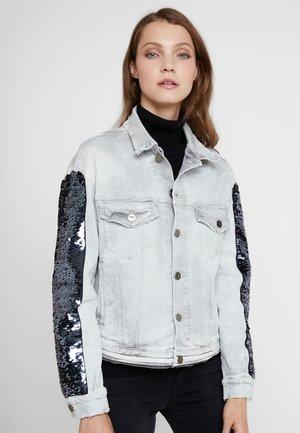 JACKET - Denim jacket - grey