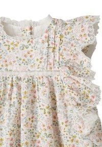 Vertbaudet - Day dress - wollweiß bedruckt - 2