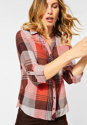MIT KARO - Button-down blouse - orange