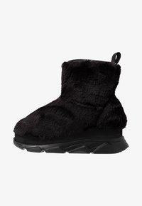Joshua Sanders - FURRY BOOT DONNA - Wedge Ankle Boots - black - 1
