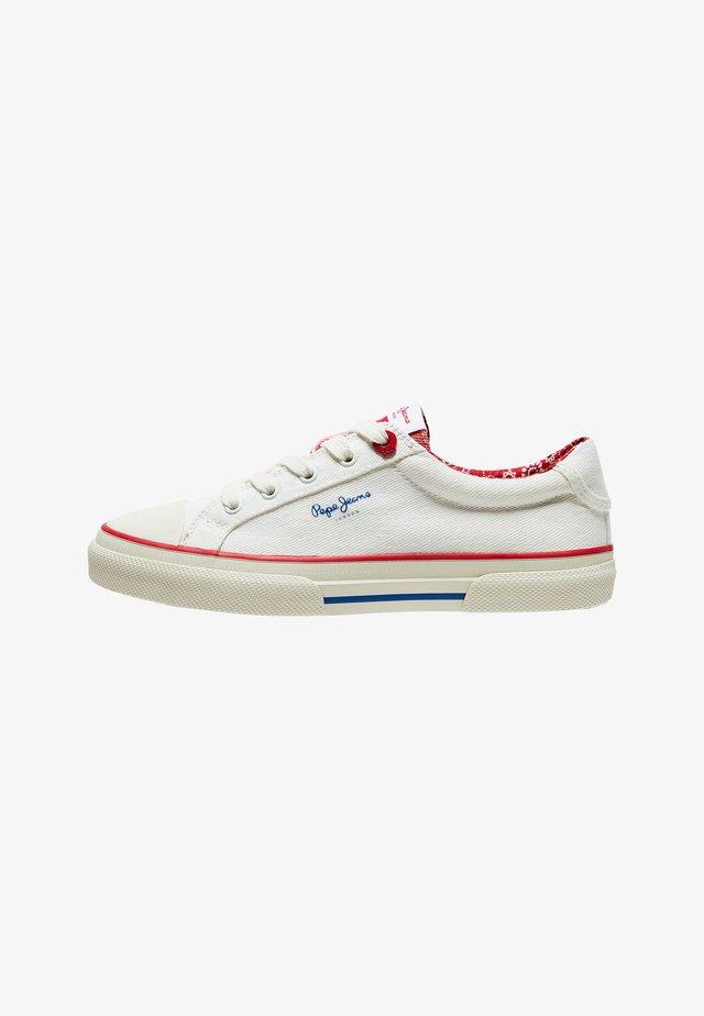 KENTON LONDON - Sneakersy niskie - off white