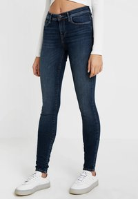 ONLY - ONLSHAPE - Skinny džíny - dark blue denim - 0