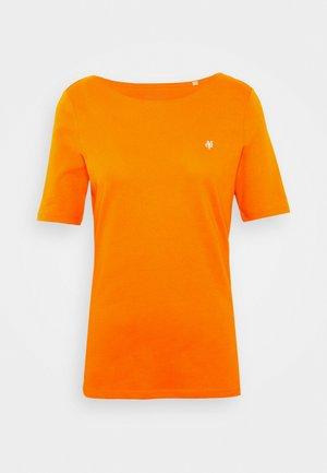 SHORT SLEEVE ROUNDNECK - T-shirt basique - sunbaked orange