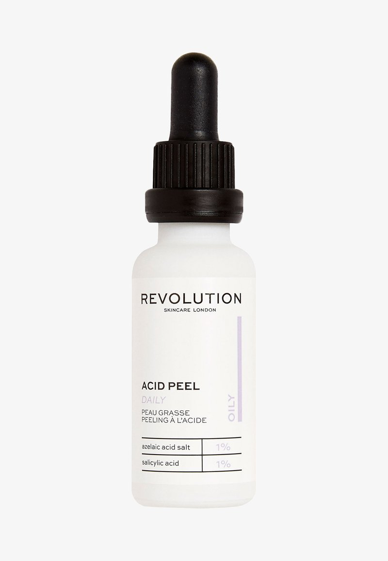 Revolution Skincare - OILY SKIN PEELING SOLUTION - Serum - -