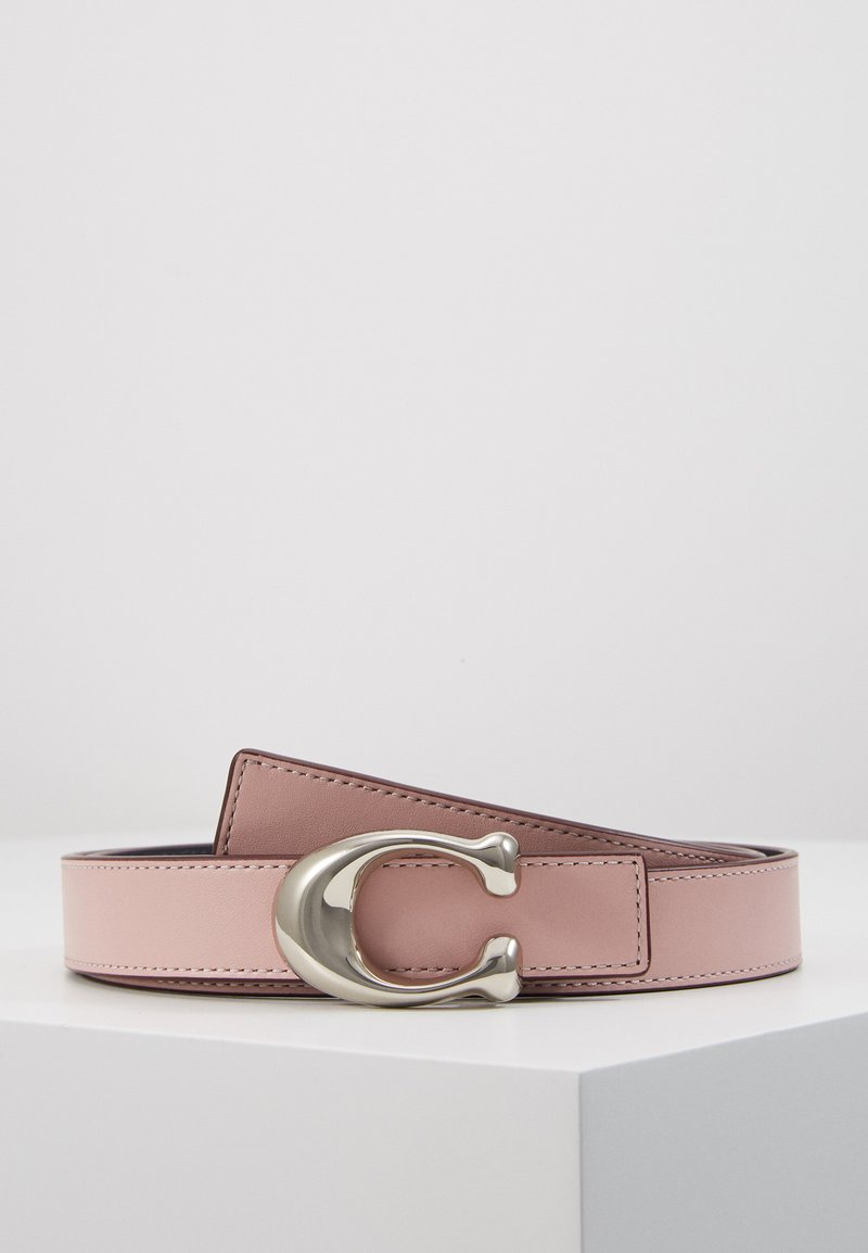 Coach - SCULPTED C REVERSIBLE BELT - Belte - aurora/midnight navy