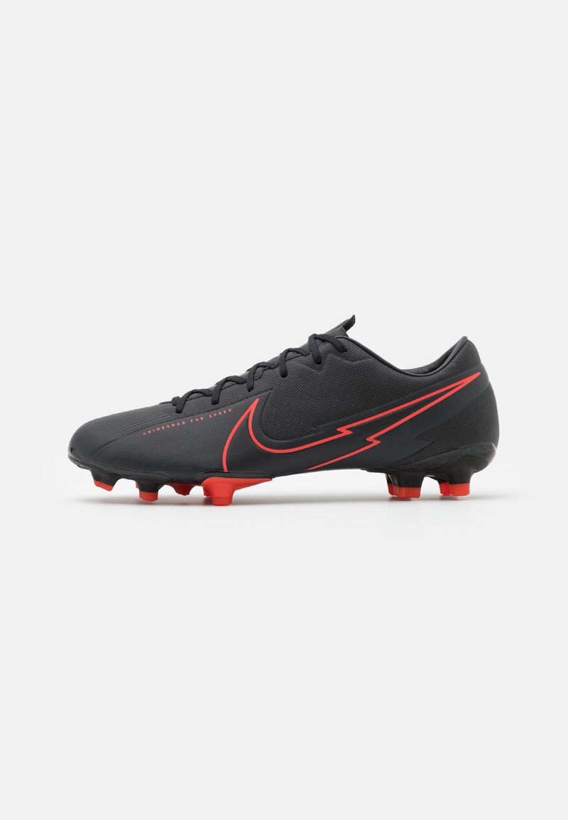 Nike Performance - MERCURIAL VAPOR 13 ACADEMY FG/MG - Moulded stud football boots - black/dark smoke grey