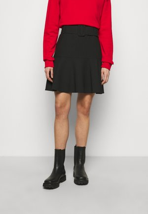 RETIA - Mini skirt - black