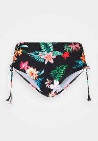 Pour Moi - WATERFALL ADJUSTABLE SIDE - Bikini bottoms - tropical - 4