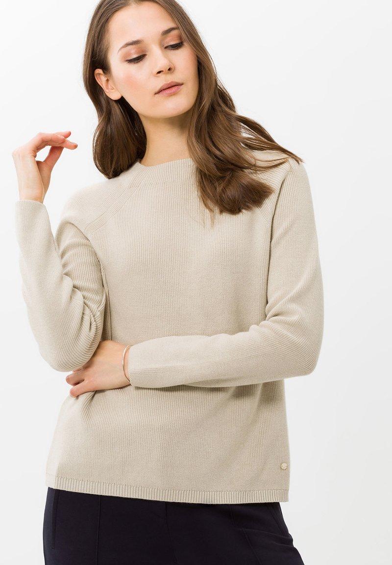 BRAX - STYLE LEA - Pullover - pearl