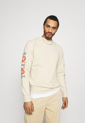 CORANZULI SLEEVE UNISEX  - Sweatshirt - natural