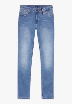 STEVE SLIM TAPERED - Slim fit jeans - dark blue
