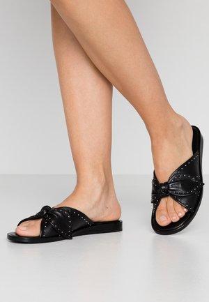 Sandaler - black/silver