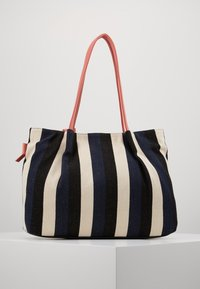 TOM TAILOR - ADRIA - Torba na zakupy - stripes blue - 2