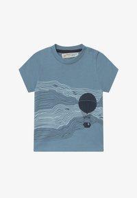 Sense Organics - IBON BABY - Print T-shirt - blue - 2
