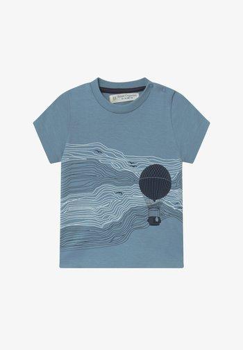 IBON BABY - Print T-shirt - blue