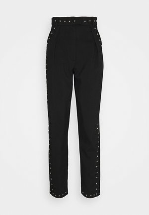 SUIT PANTS - Trousers - black
