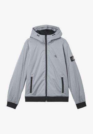 Hoodie - marble grey