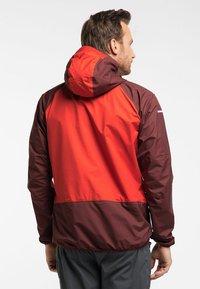 Haglöfs - L.I.M COMP JACKET  - Outdoor jacket - habanero/maroon red - 1
