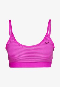 Nike Performance - INDY BRA - Sport BH - active fuchsia/black - 4