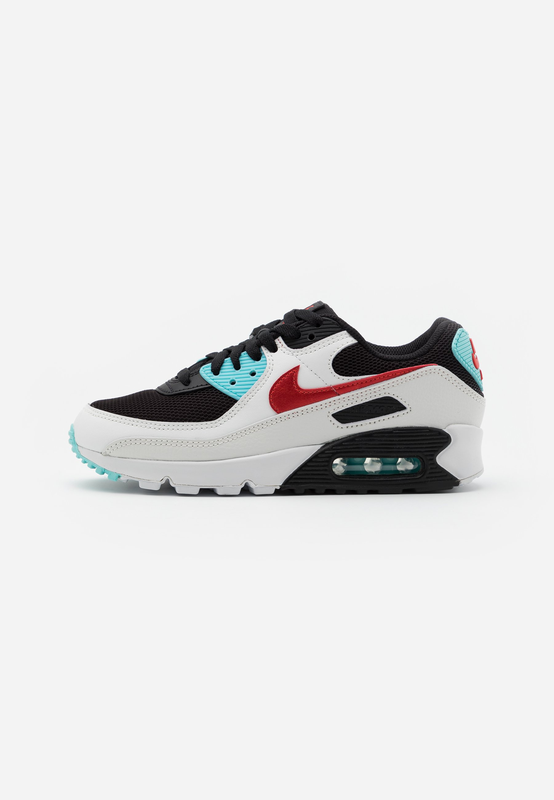 Nike Sportswear Air Max 90 - Joggesko Summit White/chile Red/bleached Aqua/black/hvit