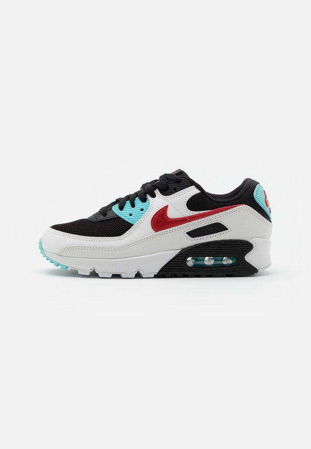 AIR MAX 90 - Sneakers laag - summit white/chile red/bleached aqua/black