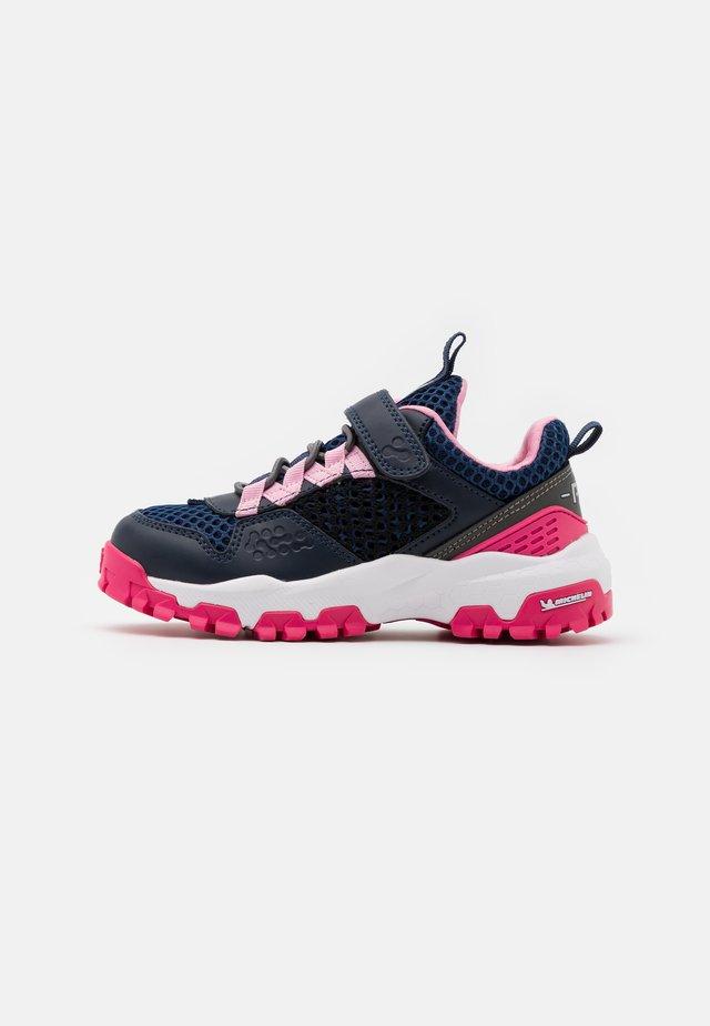 Sneakers basse - blu/navy/fux