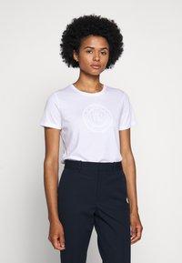 Lauren Ralph Lauren - T-shirt imprimé - white - 0