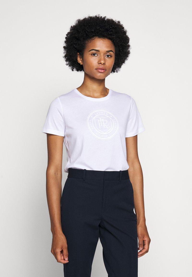 Lauren Ralph Lauren - T-shirt imprimé - white
