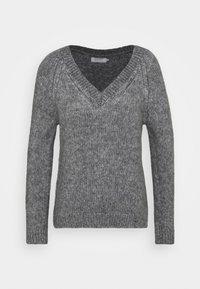 ONLBENIN V NECK - Jumper - medium grey